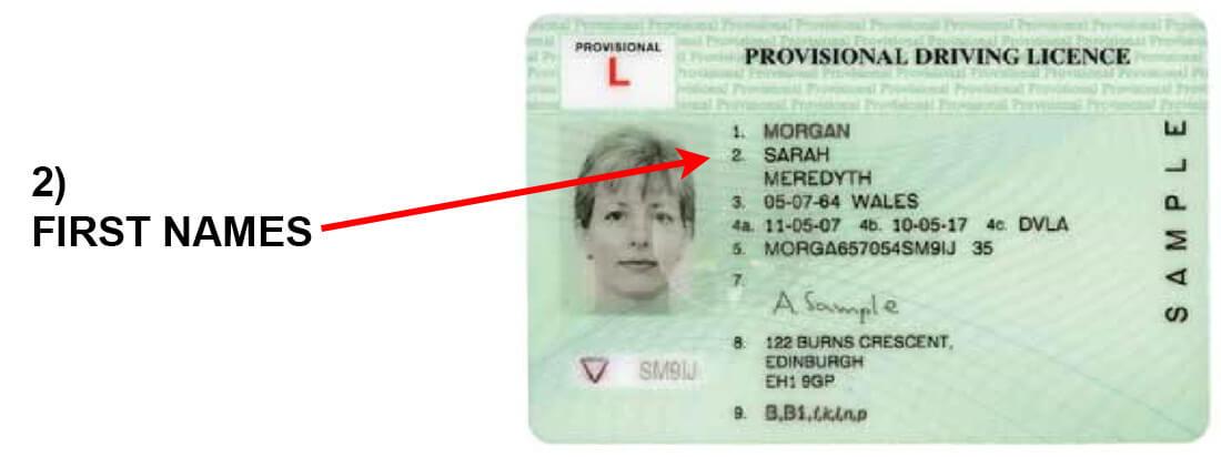 Driving ID column 2