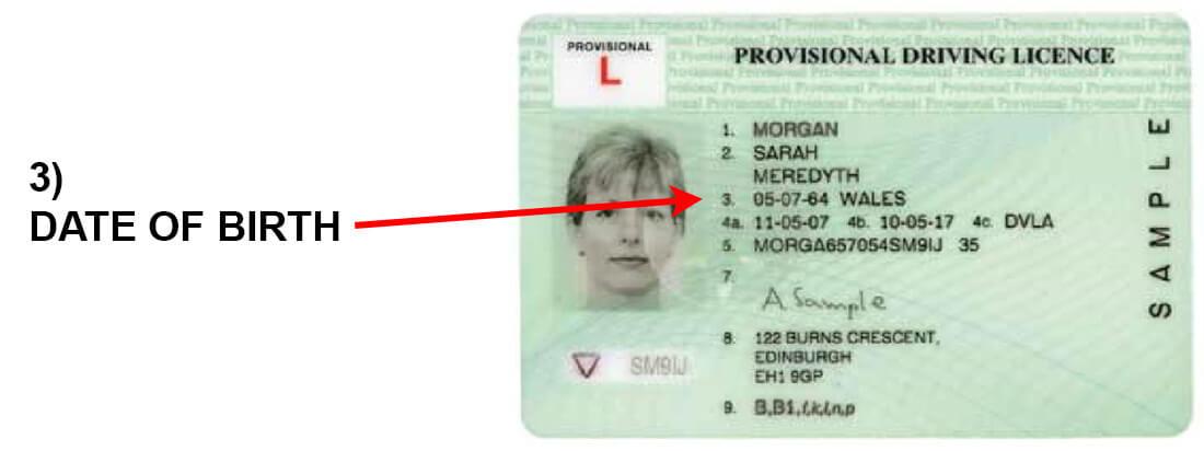 Driving Provisional column 3